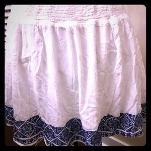 Old Navy embroidered skirt